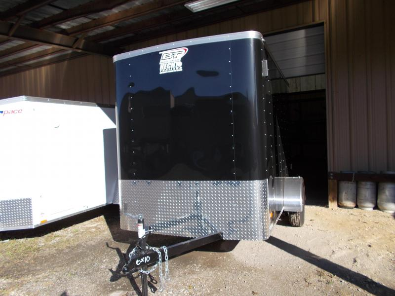 2020 Bravo Trailers 6X10 SC SA 6X RAMP APP BLACK Enclosed Cargo Trailer