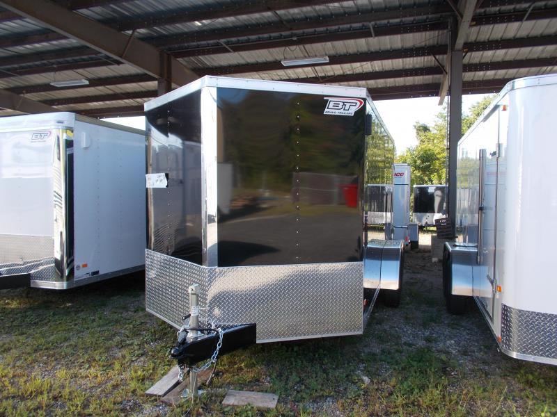 "2020 Bravo Trailers 7X14 ST TA2 30""V APP BLACK Enclosed Cargo Trailer"