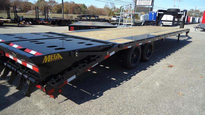 2022 Big Tex Trailers EH 8.5X25 16GN 20BK5DT MEGA BLACK Equipment Trailer