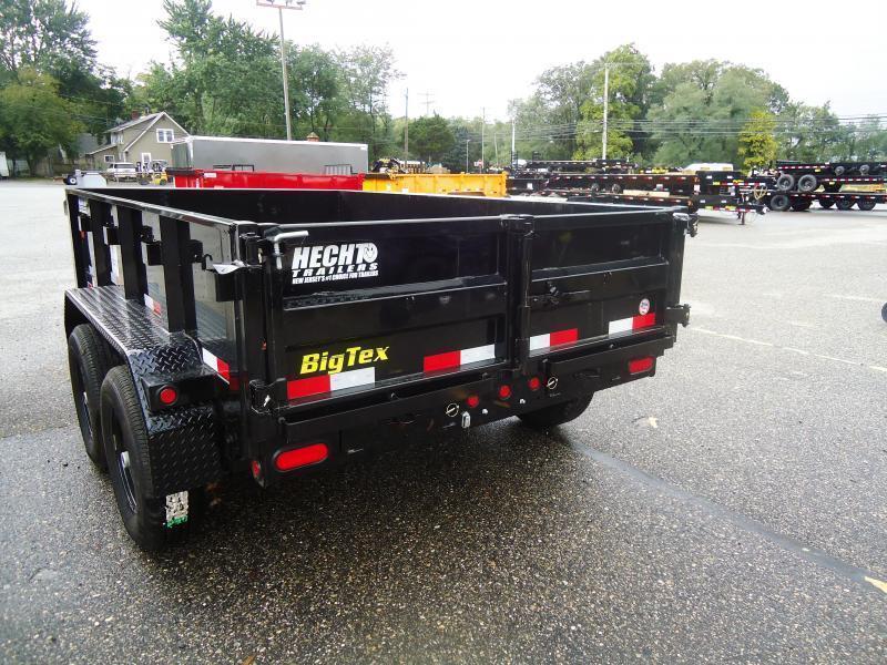 2021 Big Tex Trailers DT 6X10 90SR 10BK 7SIR BLACK Dump Trailer