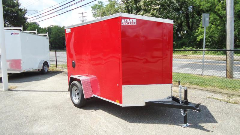 2022 Pace American5X8 OBDLX SI2 V SVNT RED Enclosed Cargo Trailer