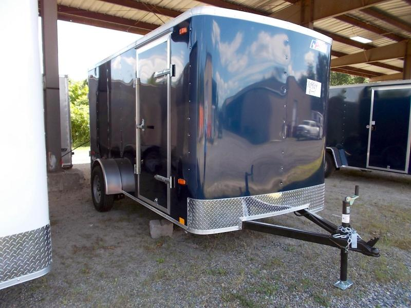 2021 Pace American 6X12 OB SI2 BLUE Enclosed Cargo Trailer