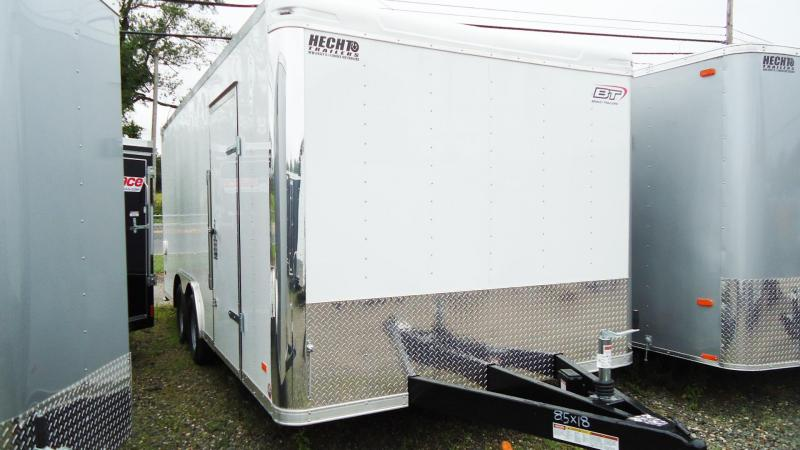2020 Bravo Trailers 8.5X18 ST TA2 LNDSCP WHITE Car / Racing Trailer