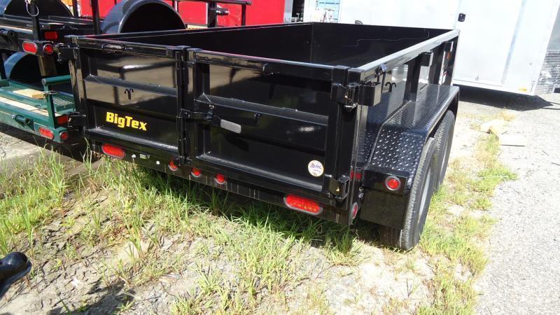 2022 Big Tex Trailers DT 5X10 70SR 10BK 5WDD BLACK Dump Trailer