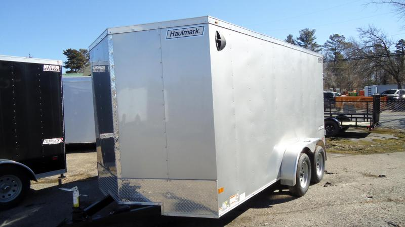 2021 Haulmark 7X14 PPD T2 SILVERFROST Enclosed Cargo Trailer
