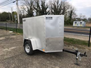 2021 Pace American 4X6JV Enclosed Cargo Trailer