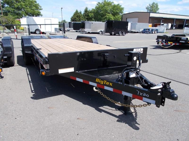 2020 Big Tex Trailers EH 7X20 16ET 17+3BK MEGA BLACK Equipment Trailer