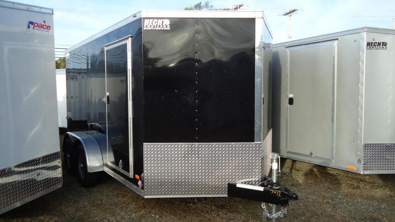2020 Bravo Trailers 7X12 ST TA2 30V MC PKG RAMP BLACK Enclosed Cargo Trailer