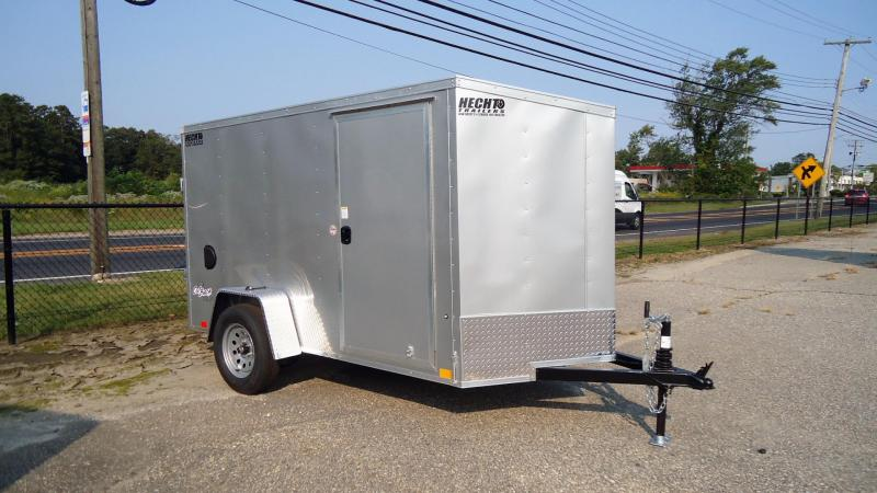 2022 Pace American 5X10 OBDLX SI2 RAMP SVNT SILVER Enclosed Cargo Trailer