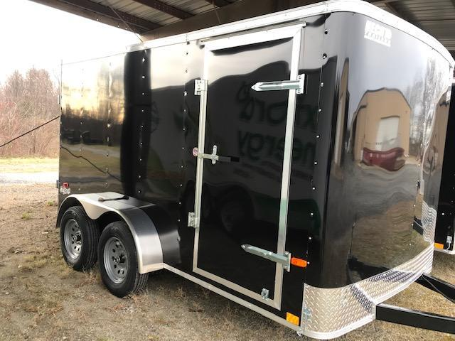 2022 Pace American 7X12 OB TE2 BLACK Enclosed Cargo Trailer