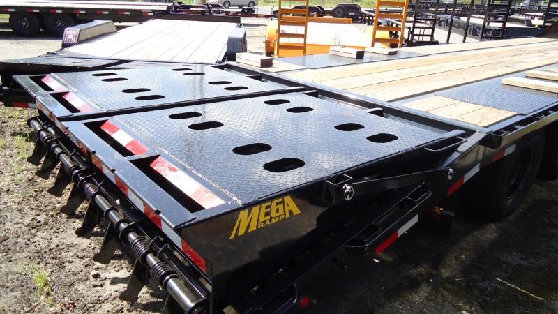 2021 Big Tex Trailers EH 8.5X30 25GN 25BK 5MR MEGA BLACK Equipment Trailer