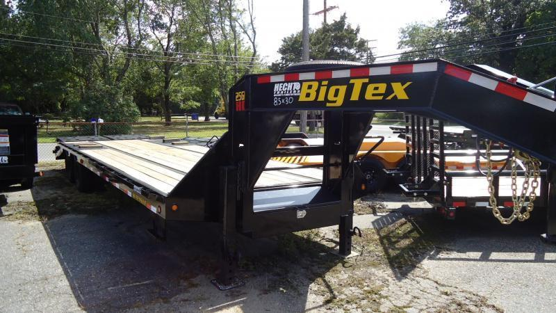 2021 Big Tex Trailers EH 8.5X30 25GN 25BK 5MR MEGA BLACK Equipment Trailer