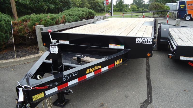 2022 Big Tex Trailers EH 8.5X20 14OA 20BK 8SIR BLACK Equipment Trailer