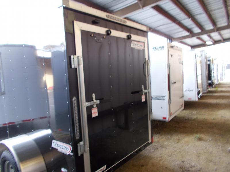 2020 Bravo Trailers 5X8 SC SA 18V 6X RAMP APP BLACK Enclosed Cargo Trailer