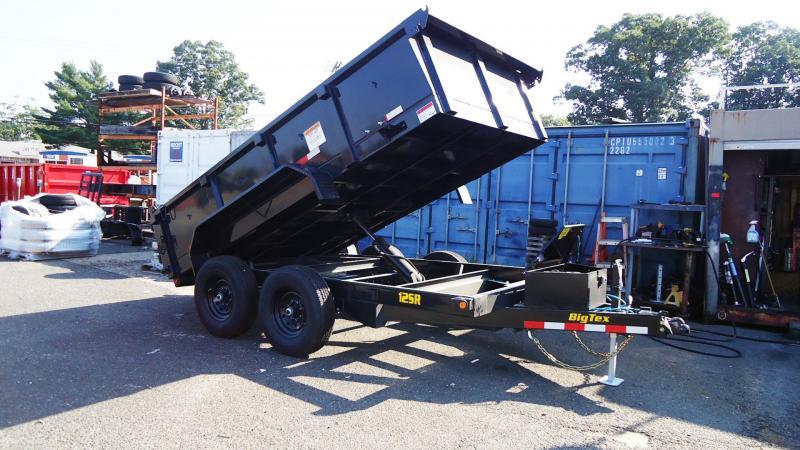 2022 Big Tex Trailers DT 7X12 12SR 12XL BK 6SIR BLACK Dump Trailer
