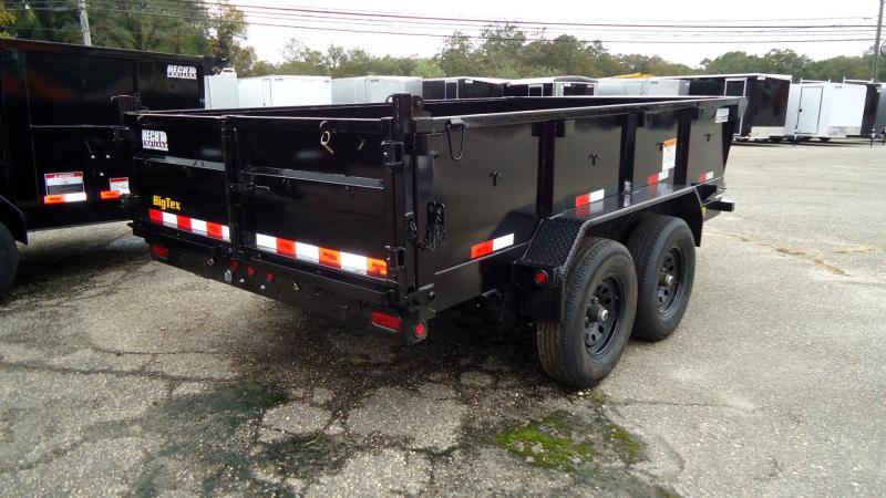 2022 Big Tex Trailers DT 7X12 10SR 12XL BK 6SIR BLACK Dump Trailer