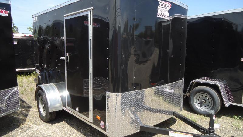 2020 Bravo Trailers 6X10 SC SA SVNTS BLACK Enclosed Cargo Trailer