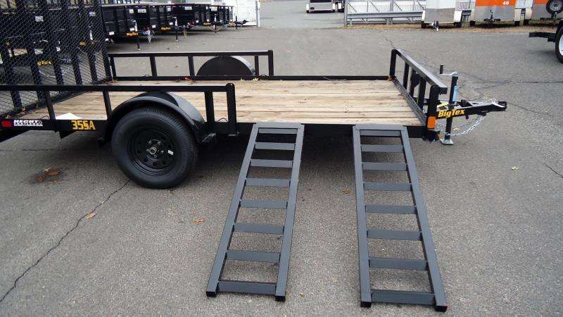 2020 Big Tex Trailers UT 7X14 35SA 14BK 4RG SX BLACK ATV Trailer