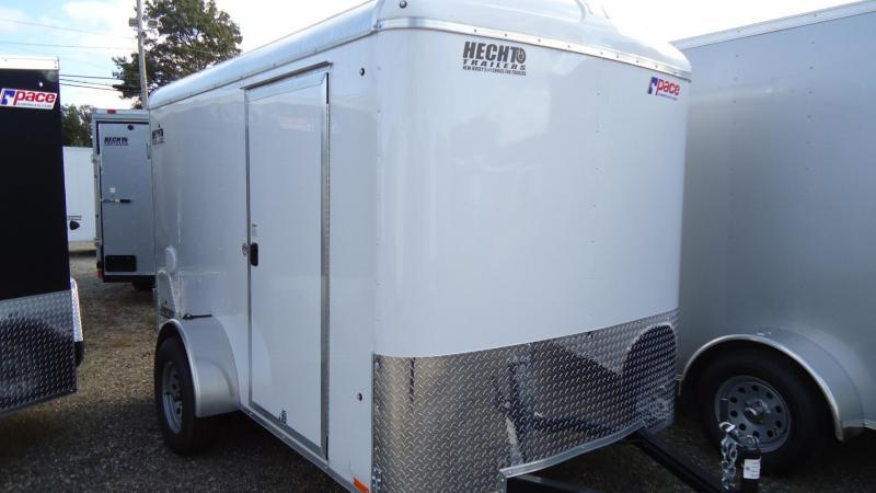 2021 Pace American 6X10 JT SI2 SVNT WHITE Enclosed Cargo Trailer
