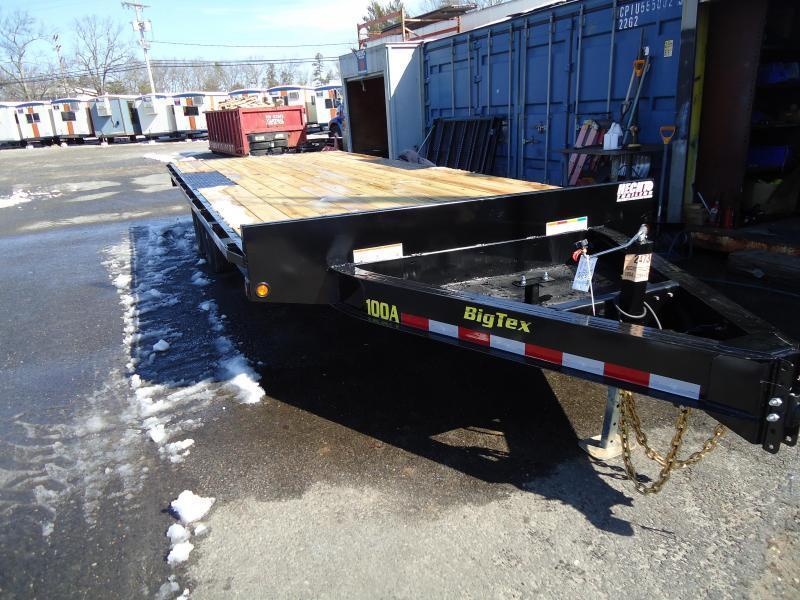 2022 Big Tex Trailers EH-8.5X20 10OA 20BK8SIR BLACK Equipment Trailer