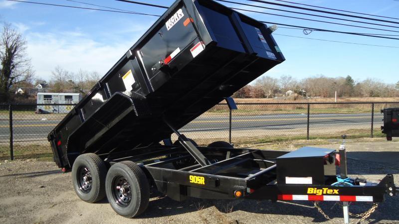 2022 Big Tex Trailers DT 6X12 90SR 12BK 7SIR BLACK Dump Trailer