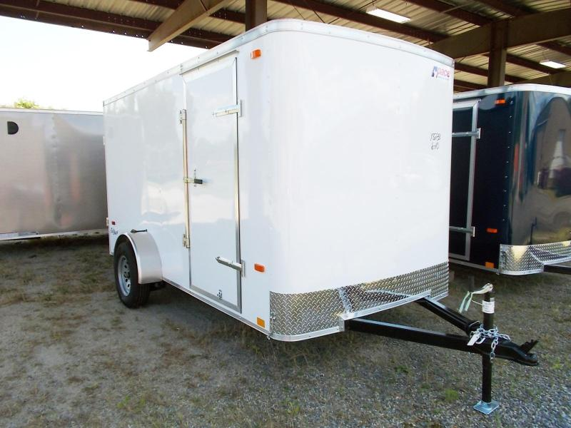 2021 Pace American 6X12 OB SI2 RAMP WHITE Enclosed Cargo Trailer