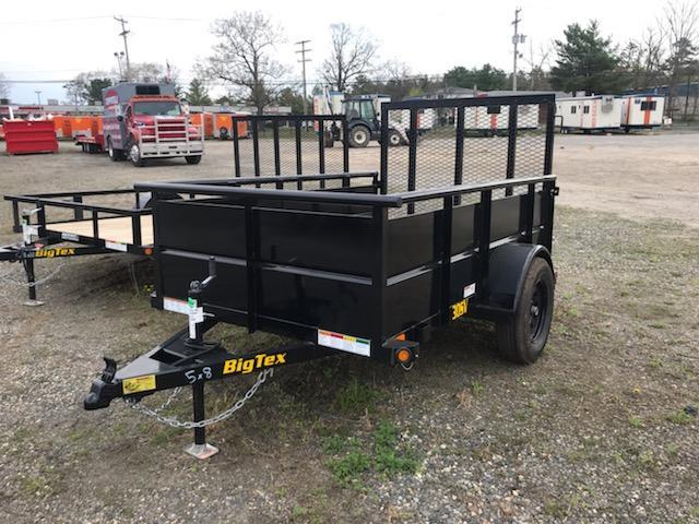 2021 Big Tex Trailers 5X8 / 30SV Utility Trailer