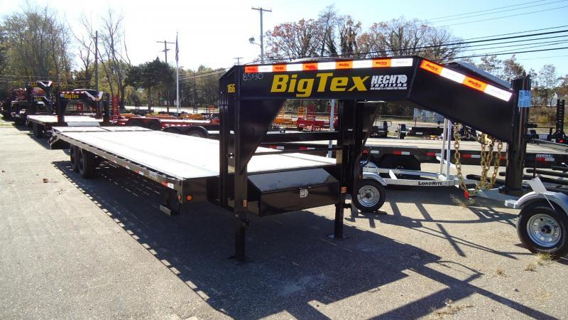 2020 Big Tex Trailers EH 8.5X30 16GN 25BK +5 MEGA BLACK Equipment Trailer