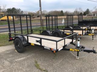 2021 Big Tex Trailers UT 5X10 30SA 10BK 4RG BLACK Utility Trailer