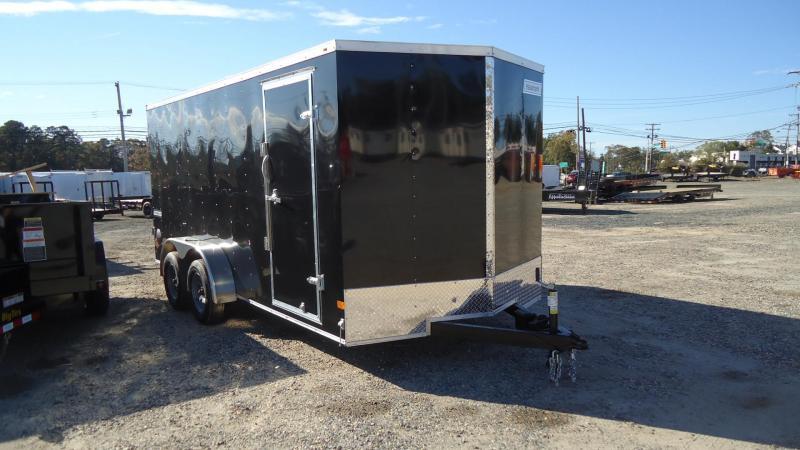 2022 Haulmark 7X16 PPD T2 BLACK Enclosed Cargo Trailer