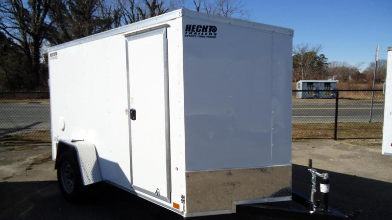 2022 Pace American 5X10 OBDLX SI2 V RAMP SD WHITE Enclosed Cargo Trailer