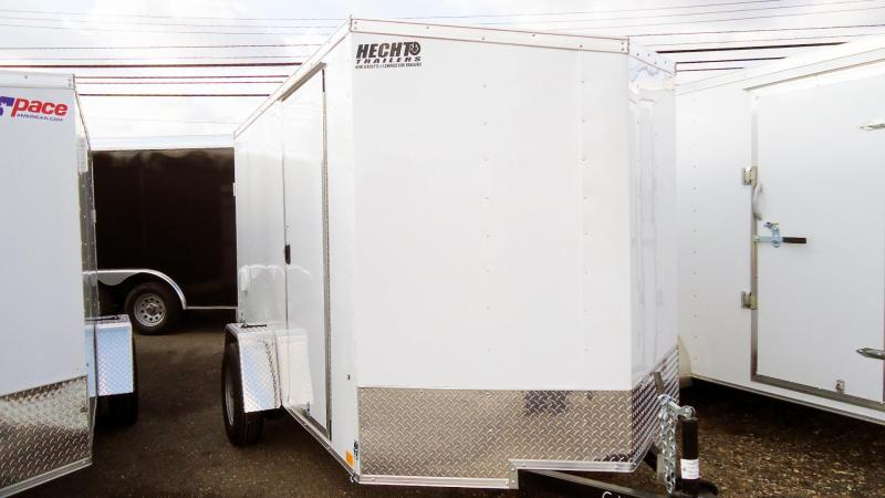 2022 Pace American 6X10 OBDLX SI2 V SVNT WHITE Enclosed Cargo Trailer