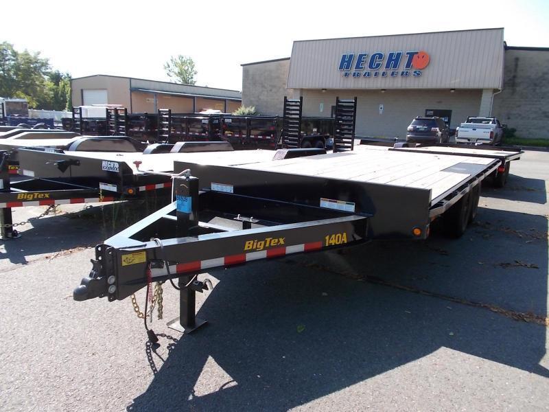 2022 Big Tex Trailers EH 8.5X16 14OA 16BK 8 SIR BLACK Equipment Trailer