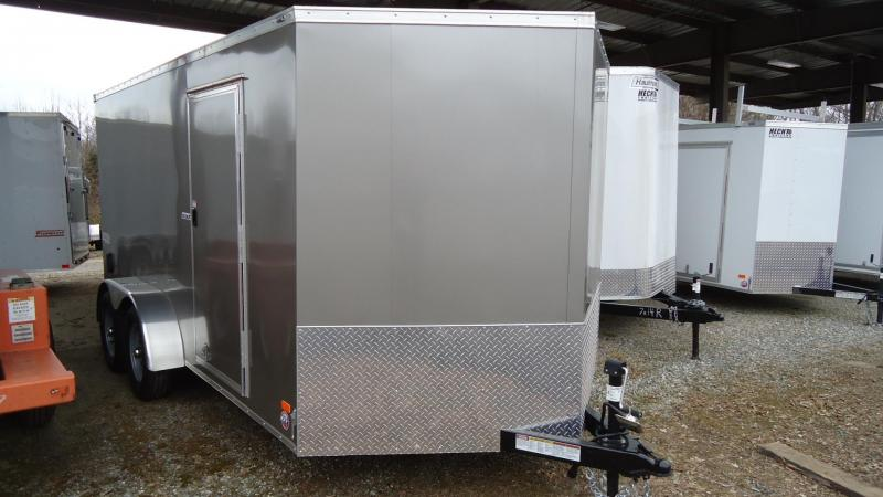 2020 Bravo Trailers 7X14 SC TA2 30V SCOUT+ APP PEWTER Enclosed Cargo Trailer