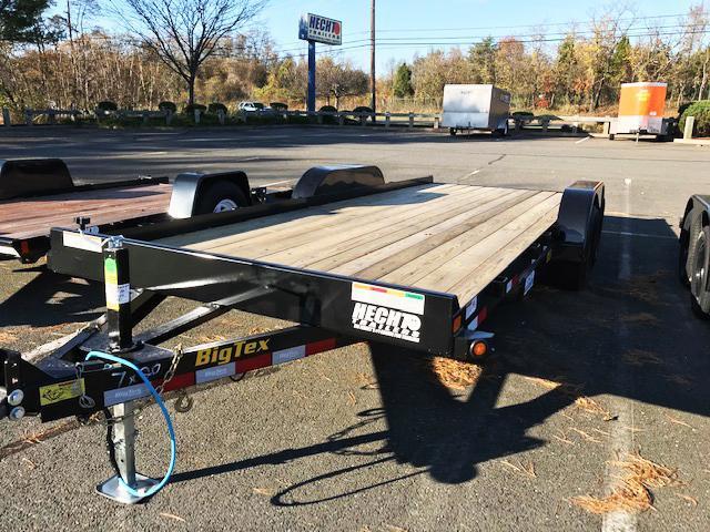 2021 Big Tex Trailers CH 7X20 10CH 20BK 4CR BLACK Car / Racing Trailer