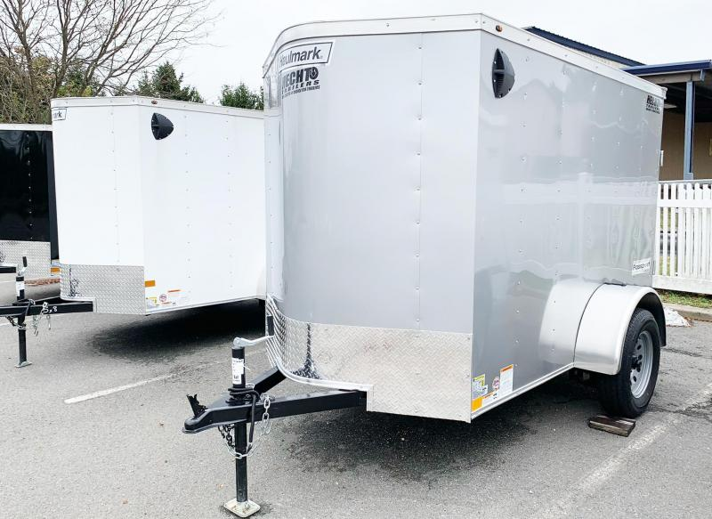 2021 Haulmark 5X8 PP S2 LD RAMP SILVERFROST Enclosed Cargo Trailer