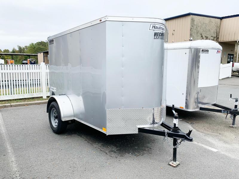 2021 Haulmark 5X8 PP S2 LD RAMP SILVERFROST Enclosed Cargo Trailer