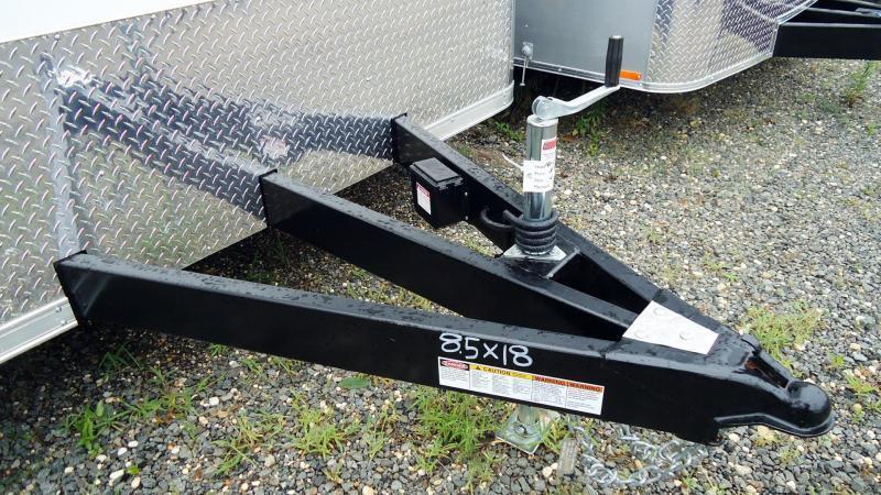 2021 Bravo Trailers 8.5X18 ST TA2 LNDSCP WHITE Car / Racing Trailer