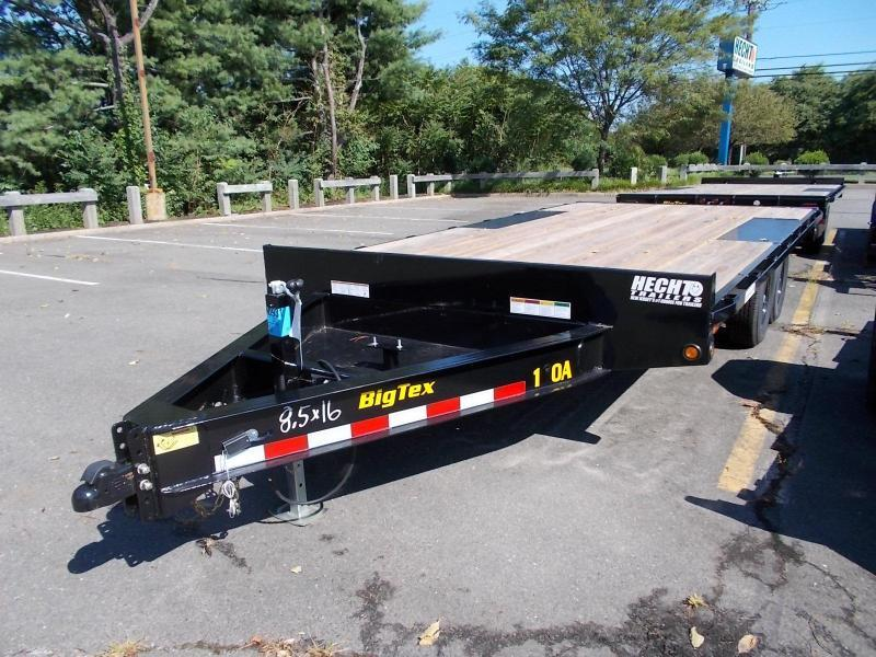 2020 Big Tex Trailers EH 8.5X16 10OA 16BK 8SIR BLACK Equipment Trailer