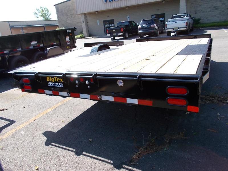 2020 Big Tex Trailers EH 8.5X16 10OA 16BK 8SIR BLACK Equipment Trailer