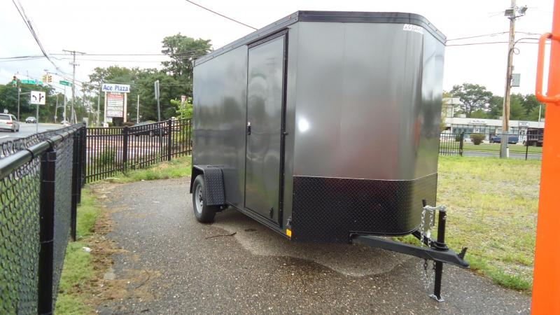 2021 Haulmark 6x12 TSV S2 PHANTOM RAMP CHARCOAL Enclosed Cargo Trailer