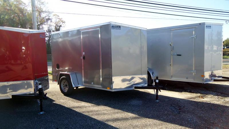 2022 Pace American 6X10 OBDLX SI2 V SVNT PEWTER Enclosed Cargo Trailer