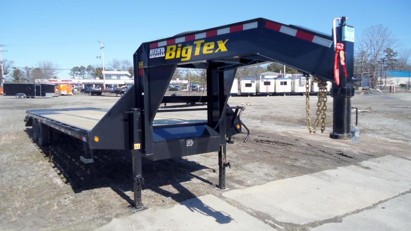 2021 Big Tex Trailers EH 8.5X30 22GN 25BK+5MR BLACK Equipment Trailer