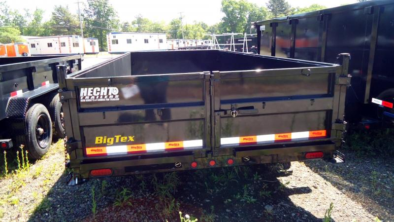 2022 Big Tex Trailers DT 7X16 16LP 16BK 6SIR PD BLACK Dump Trailer