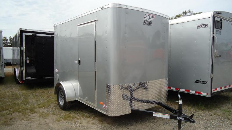 "2020 Bravo Trailers 6X10 SC SA 6""X RAMP APP SILVER Enclosed Cargo Trailer"