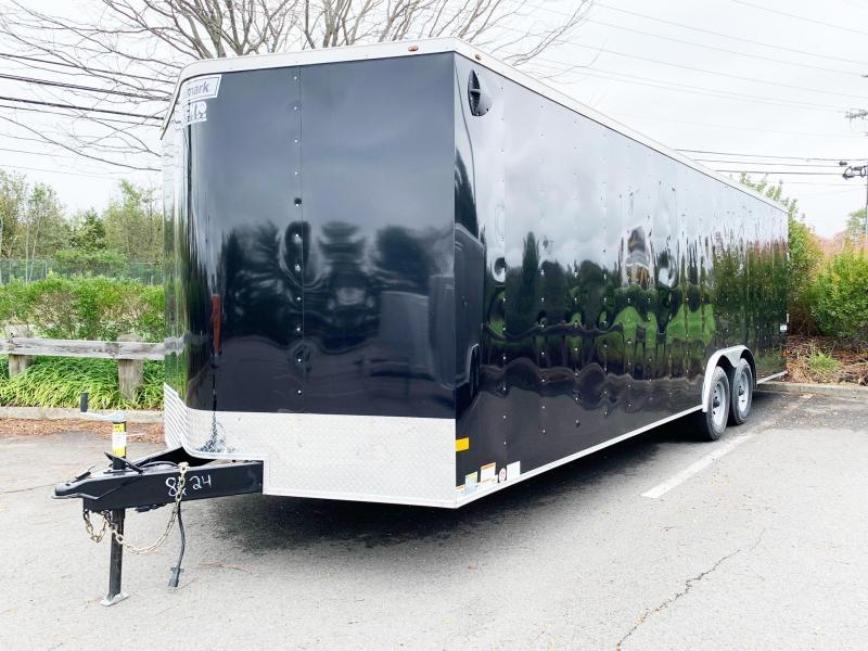 2021 Haulmark 8.5X24 PP TE3 BLACK Enclosed Cargo Trailer