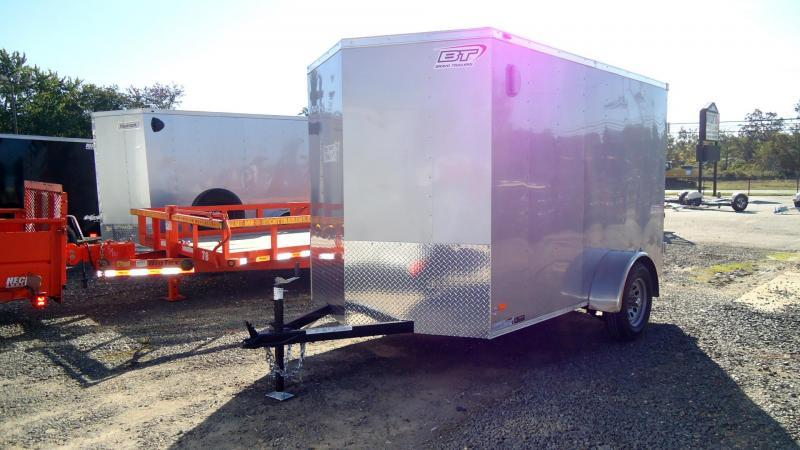 2022 Bravo Trailers 6X10 SC SA 18V APP SILVER Enclosed Cargo Trailer