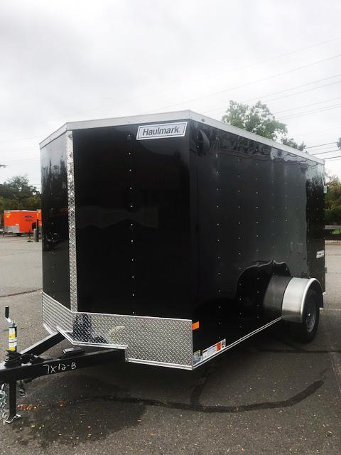 2022 Haulmark 7X12 PPD T2 BLACK Enclosed Cargo Trailer