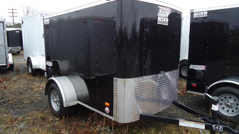2020 Bravo Trailers 5X8 SC SA APP BLACK Enclosed Cargo Trailer