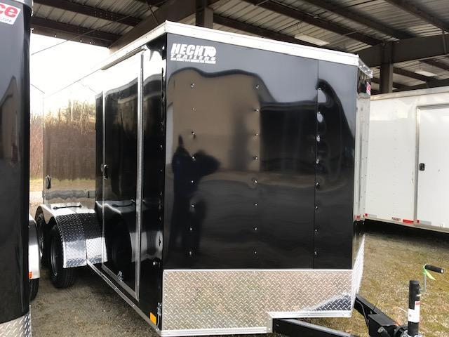 2022 Pace American 7X14 OB TE2 V SVNT BLACK Enclosed Cargo Trailer